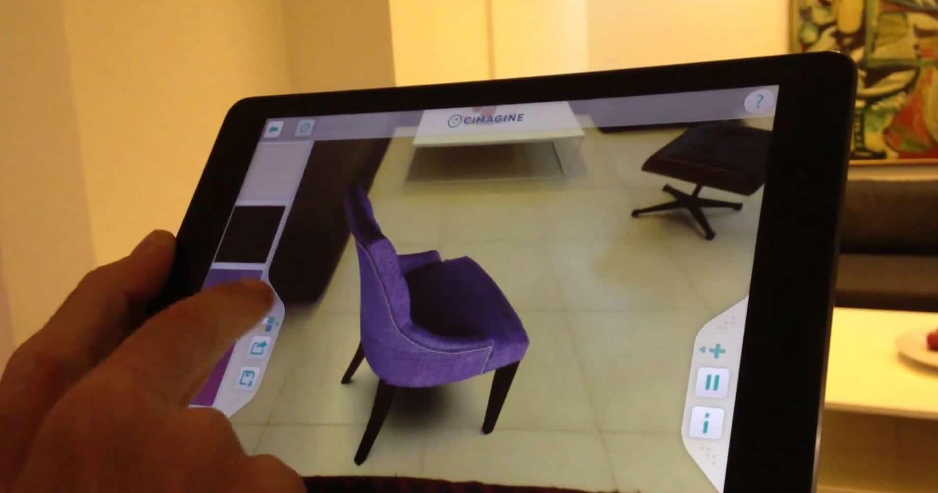 Innovation startup une application permet d 39 essayer - Isolation gratuite gouvernement ...