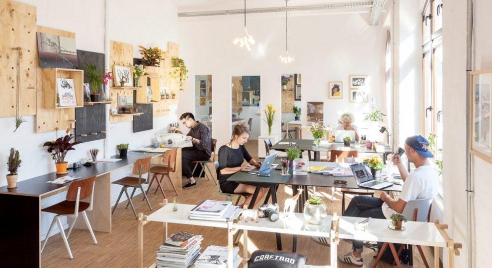 Innovation startup un espace libre de travail for Espace de travail collaboratif