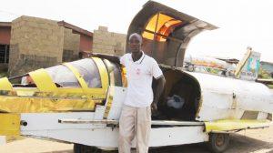 Aero-amphibious-jet-car-Nigeria-inventor