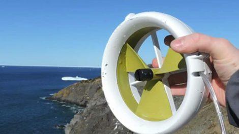 Waterlily-micro-turbine-wind-water-manual-power