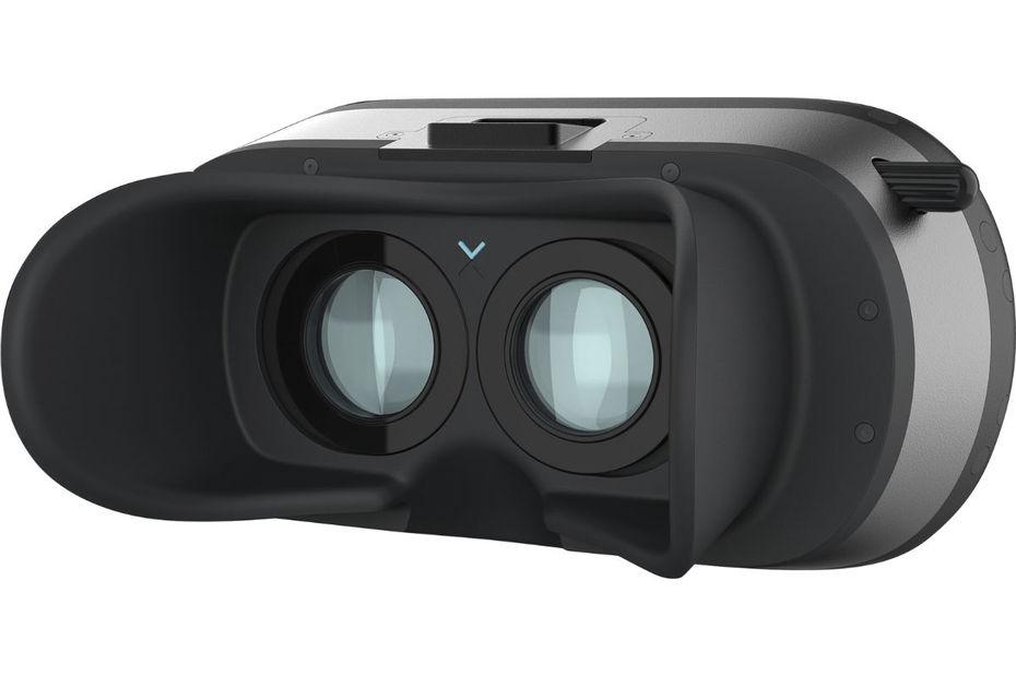 Un casque de réalité virtuelle augmentée et bionique.