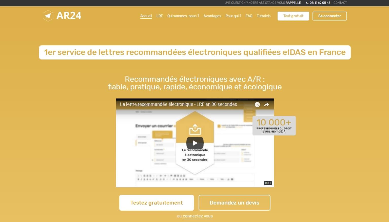 Innovation startup oui la lettre recommand e - Isolation gratuite gouvernement ...